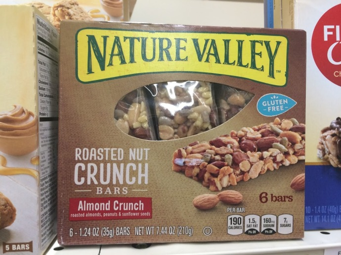 nature valley nut